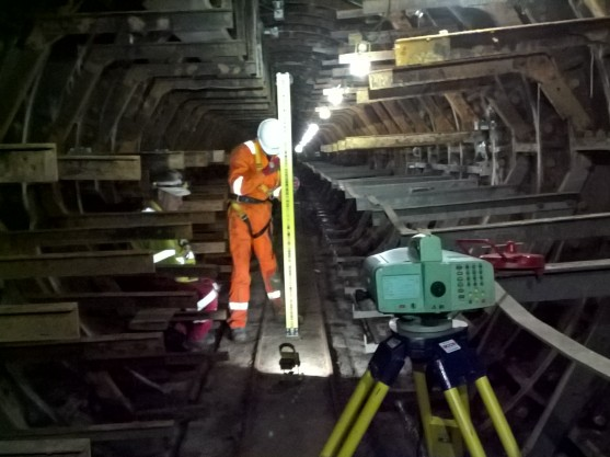 Tunnel monitoring in Battersea