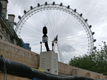 Environmental monitoring in London